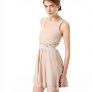 UO Lucca Couture Crepe Chiffon Dress